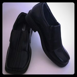 Deer STags Motivation Black Dress Shoes